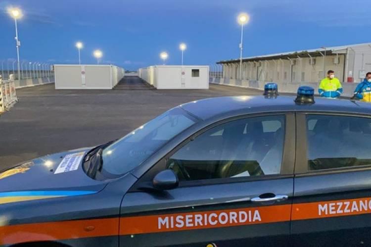 Nasce a Borgo Mezzanone il campo Covid per i migranti