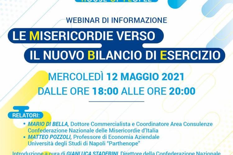 """""""Nuovo Bilancio di Esercizio"""": webinar per organi dirigenti il 12 maggio"""